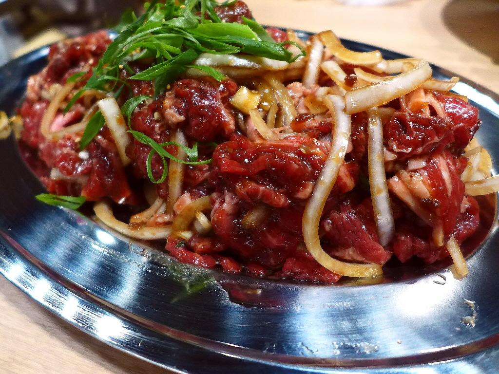 Mのディナー とても美味しいプルコギのお店がオープンします! 三ノ宮 「手巻き焼肉 金の牛」