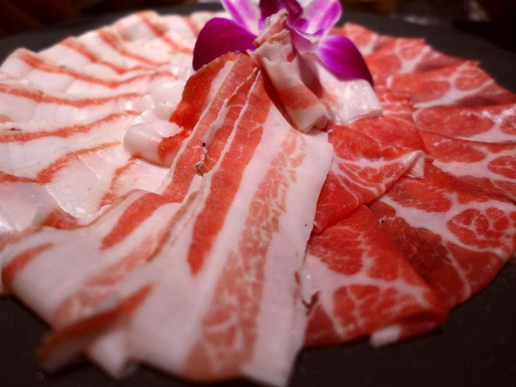 Mのディナー スペイン最高級のイベリコ豚『レアル・ベジョータ』のあまりの美味しさに心から感動をさせていただきました! 北新地 「イベリコ屋 北新地店」
