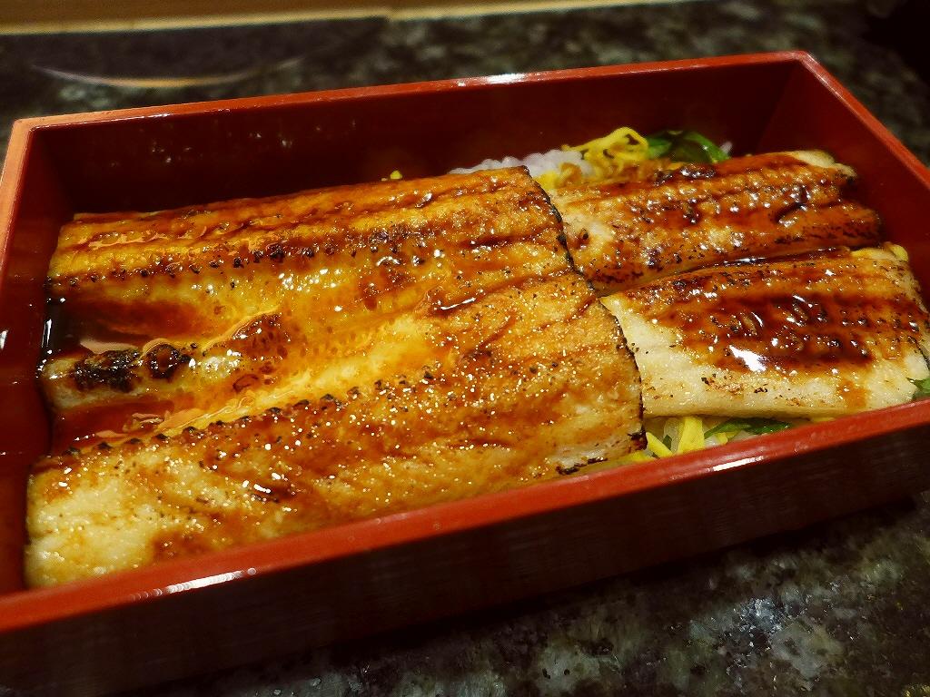Mのディナー 長崎県対馬西沖産の上質の穴子がとても美味しくいただけます! 心斎橋 「対馬穴子や」
