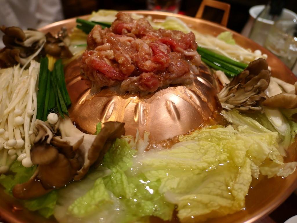 Mのディナー 初めて食べた『焼鍋』のあまりの美味しさに完全にハマってしまいました! 本町 「鍋屋 okamoto 本町店」