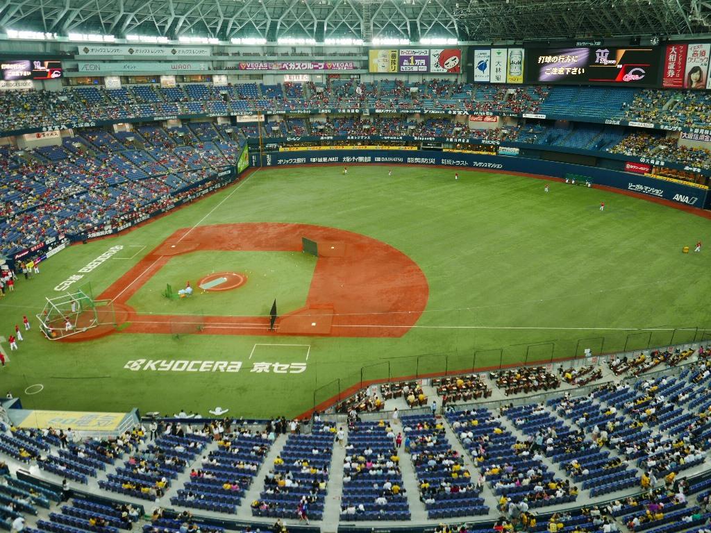 Mのディナー 今年も豪華な野球観戦にご招待いただきました! 京セラドーム大阪 「ビスタルーム」