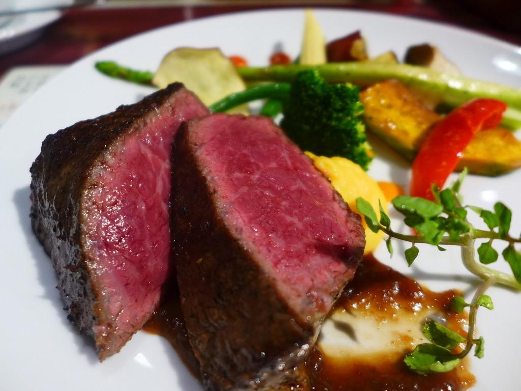 Mのディナー 神戸牛のステーキがお手軽にいただけます! 道頓堀 「ステーキさくら 道頓堀west店」