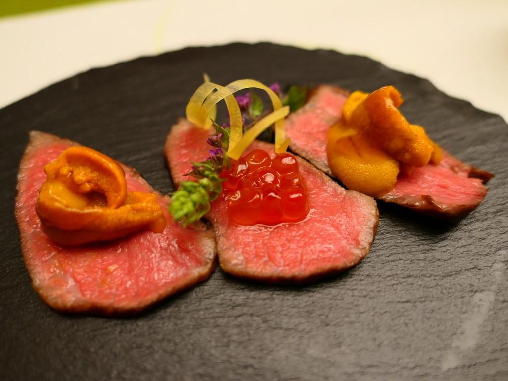 Mのディナー とても希少で美味しい『どなん和牛』を使った伝統の大阪割烹料理がいただけます! 心斎橋 「おおさか料理 淺井 東迎」