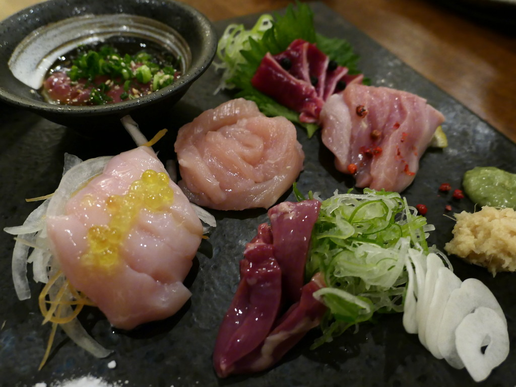 Mのディナー 新鮮な大和肉鶏の本格炭火焼鳥とイタリアンテイストな料理が味わえます! 天満橋 「炭火焼料理専門店 和元」
