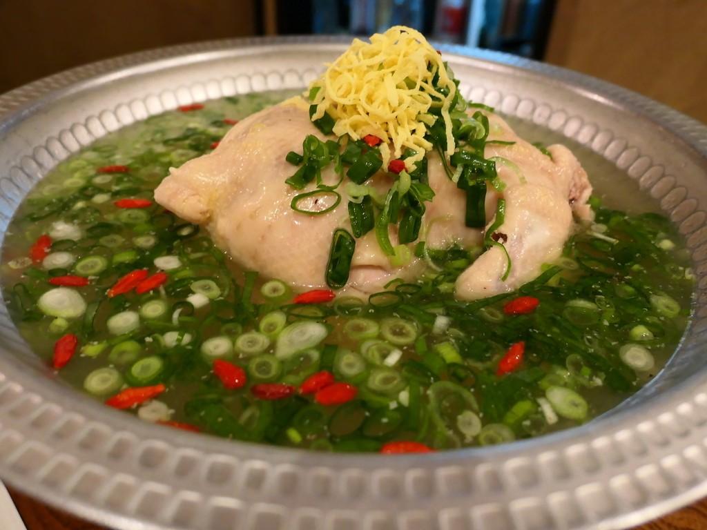 Mのディナー 鶴橋の老舗韓国料理店『韓味一』の伝統の参鶏湯(サムゲタン)がいただけるお店にリニューアルしました! 福島区 「入ル」