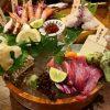 Mのディナー 鮮度抜群の魚介類の様々な本格料理がお手軽にいただける魚好きにはたまらない居酒屋! 西中島 「魚居酒屋 すなおや 西中島本店」