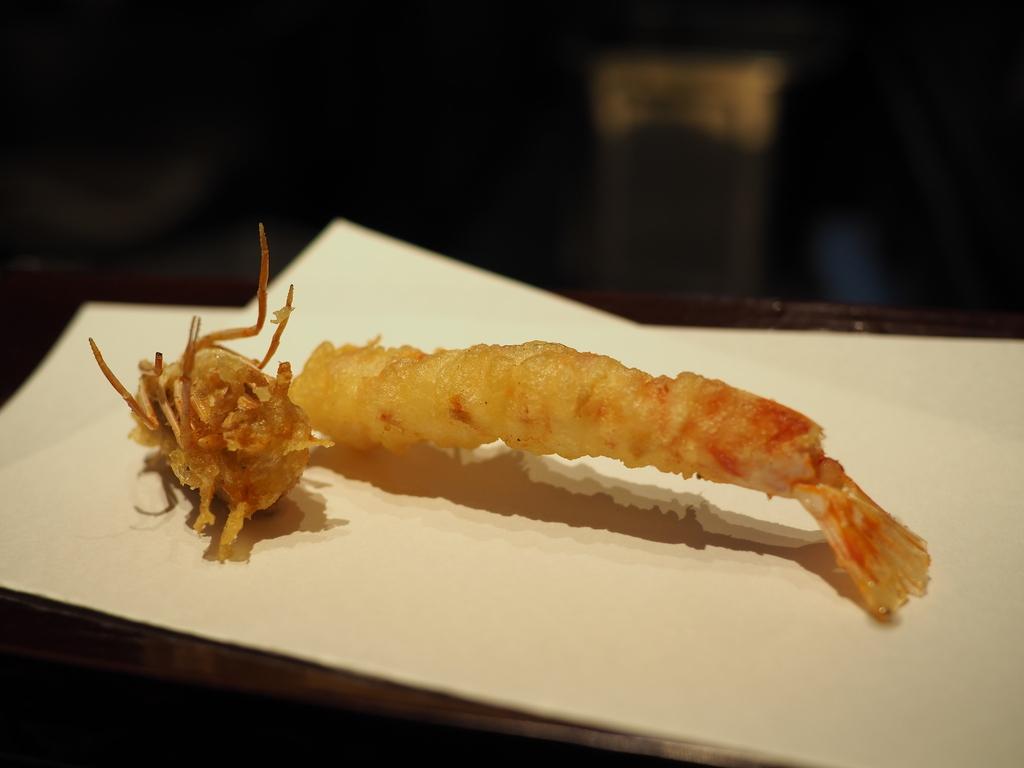 Mのディナー 本格派と創作系の天ぷらとお蕎麦をアテに日本酒とワインが楽しめる素晴らしいお店! 北新地 「天麩羅とお蕎麦 三輪」